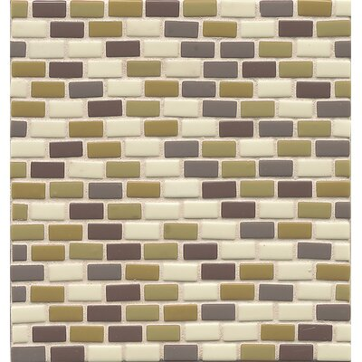 Connetix 0.5 x 1 Glass Mosaic Tile in Fillament