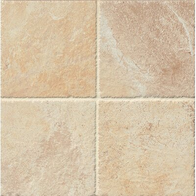Rome 6.5 x 6.5 Porcelain Field Tile in Beige