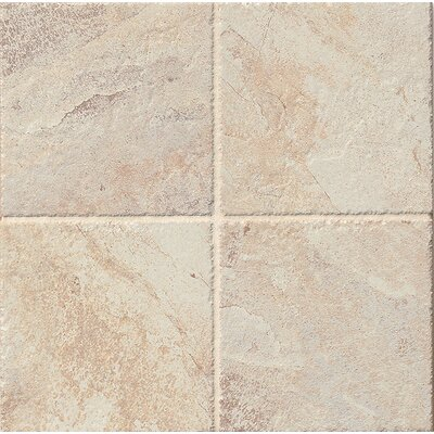 Rome 6.5 x 6.5 Porcelain Field Tile in Cream