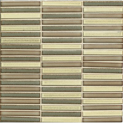 Hinterland 0.5 x 4 Porcelain Mosaic Tile in Frontier Blend