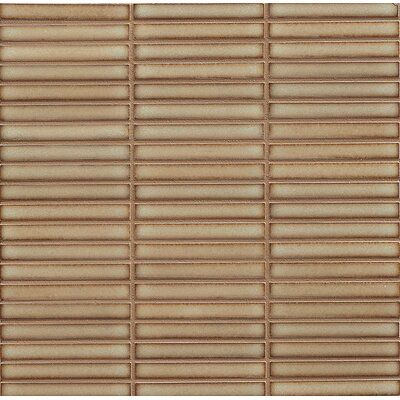 Hinterland 0.5 x 4 Porcelain Mosaic Tile in Drift Wood