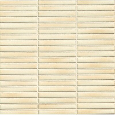 Hinterland 0.5 x 4 Porcelain Mosaic Tile in Bluff