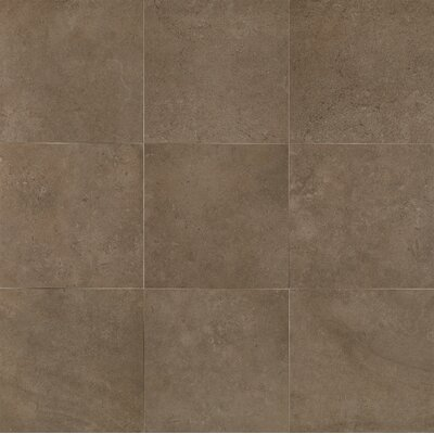 Hudson 18 x 18 Porcelain Field Tile in Noir