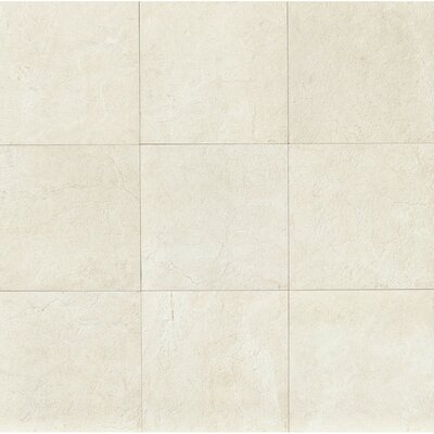El Dorado 24 x 24 Porcelain Field Tile in Shell Polished