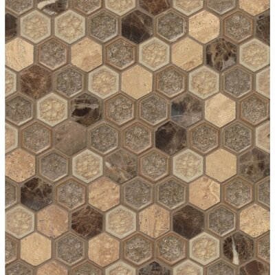 Kismet Fantasy Hexagon Mosaic Tile