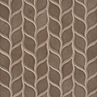 Park Place Filiole Mosaic Tile in Brown