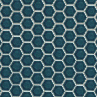 Park Place 2 x 2 Ceramic Mosaic Cape Cod Blue Tile