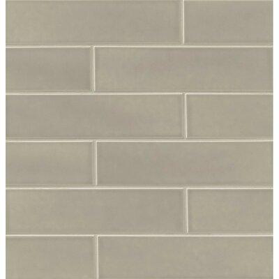 Park Place 3.88 x 16 Ceramic Field Tile in Gravel