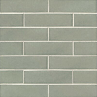 Park Place Concrete 2.5 x 9 Ceramic Field Tile