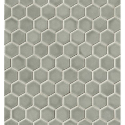 Park Place Concrete Hexagon Mosaic Tile