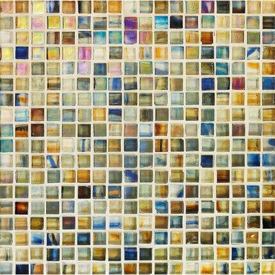Pool Watermark 0.625 x 0.625 Glass Mosaic Tile