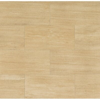 Materia 3D 12 x 24 Porcelain Field Tile in Honed Sisal