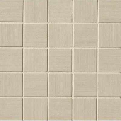 Weston 2 x 2 Porcelain Mosaic Tile in Beige