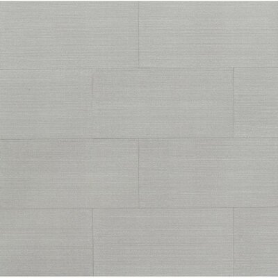 Weston 12 x 24 Porcelain Field Tile in Silver