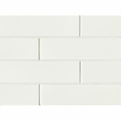 Reverie 2.5 x 9 Porcelain Subway Tile in White