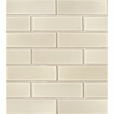 Reverie 2 x 6 Porceclain Mosaic Tile in Beige
