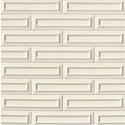Portofino 3 x 12 Ceramic Mosaic Tile in Beige