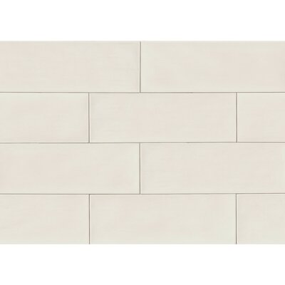 Starck 8 x 24 Ceramic Mosaic Tile in Gray