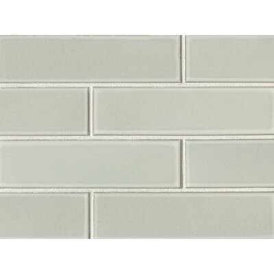 Reverie 2.5 x 9 Porcelain Subway Tile in Gray