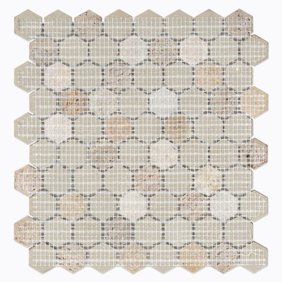 Verge Meditate Hexagon Mosaic Tile