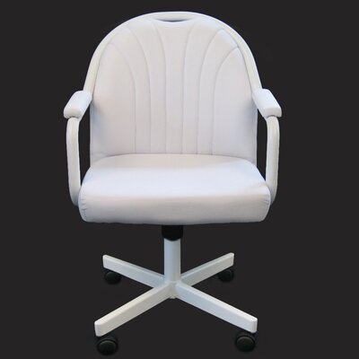 Empire Arm Chair Color: White