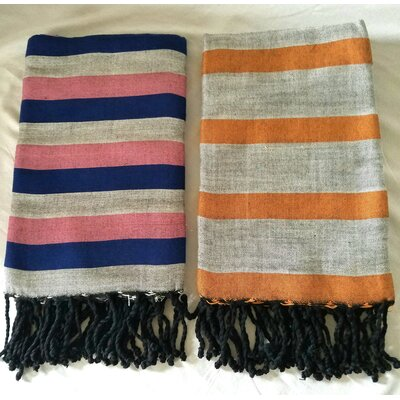 2 Piece Bath Towel Set