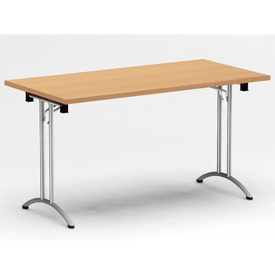 Ringler Rectangular 29H x 30W x 60L Conference Table Top Finish: Natural Beech