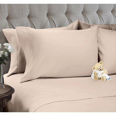 Sheet Set Color: Soft Pink, Size: Full