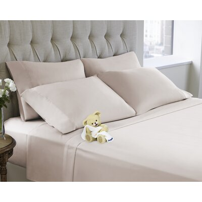 6 Piece Sheet Set Color: Soft Pink, Size: Queen