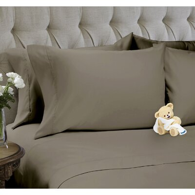 6 Piece Sheet Set Size: Full, Color: Khaki