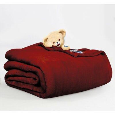 Throw Blanket Size: Full/Queen, Color: Berry