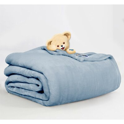 Throw Blanket Size: Full/Queen, Color: Denim