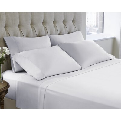 6 Piece Sheet Set Color: Bright White, Size: Queen