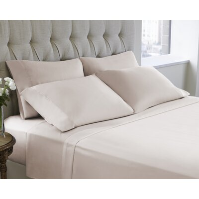 6 Piece Sheet Set Size: King, Color: Soft Pink