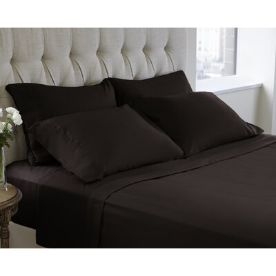 6 Piece Sheet Set Size: Full, Color: Java