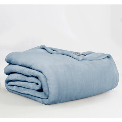 Throw Blanket Size: King, Color: Denim