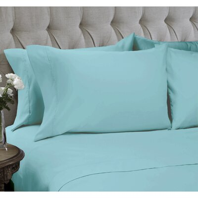 Sheet Set Color: Nile Blue, Size: Full