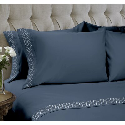 Sheet Set Size: Queen, Color: Vintage Indigo