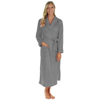 Super Plush Ultra Lux Bathrobe Color: Wet Weather