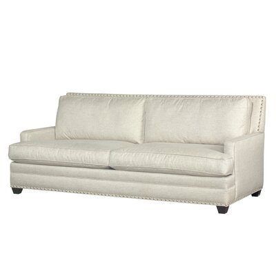 Veliz Loveseat with Pewter Nails