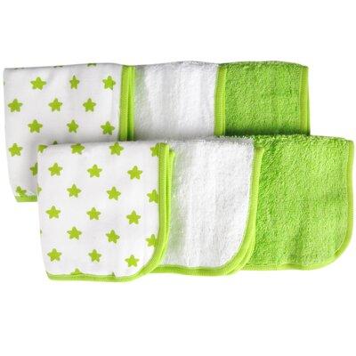 Star 6 Piece Washcloth Set
