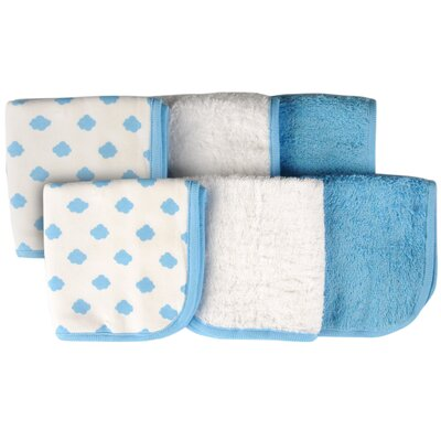 Cloud 6 Piece Washcloth Set