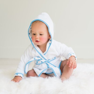 Cloud Hooded Bathrobe HR686G