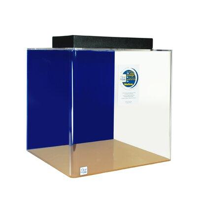 Mullen Cube Acrylic Aquarium Tank Color: Sapphire Blue, Size: 18 H x 18 W x 18 D