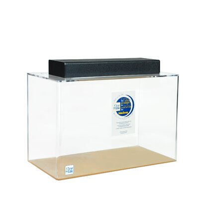 Rectangle Acrylic Aquarium Tank Color: Clear, Size: 30 H x 72 W x 24 D