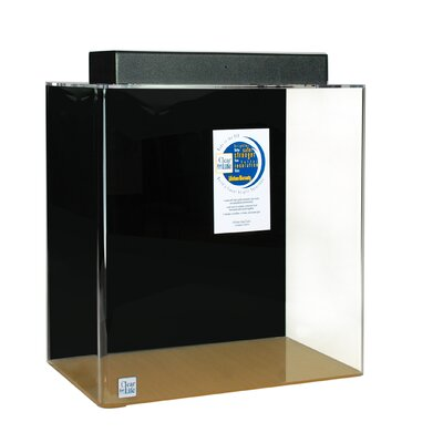 Mulligan Rectangle Acrylic Aquarium Tank Color: Black, Size: 36 H x 72 W x 24 D