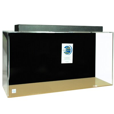 Aquarium Tank Color: Black, Size: 30 H x 96 W x 24 D
