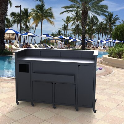 Classic Portable Bar Finish: Black