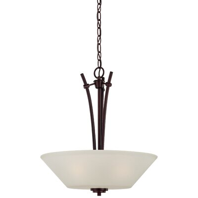 Cana 3-Light Inverted Pendant Finish: Sienna Bronze