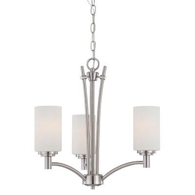 Cana 3-Light Indoor Shaded Chandelier